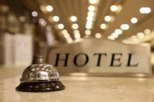 Presidio Pest Management in hotel rooms