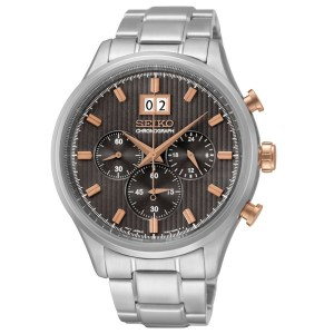SEIKO MENS 42MM 100M CHRONOGRAPH