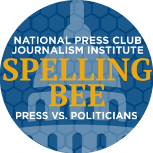 2017 National Press Club Spelling Bee Logo