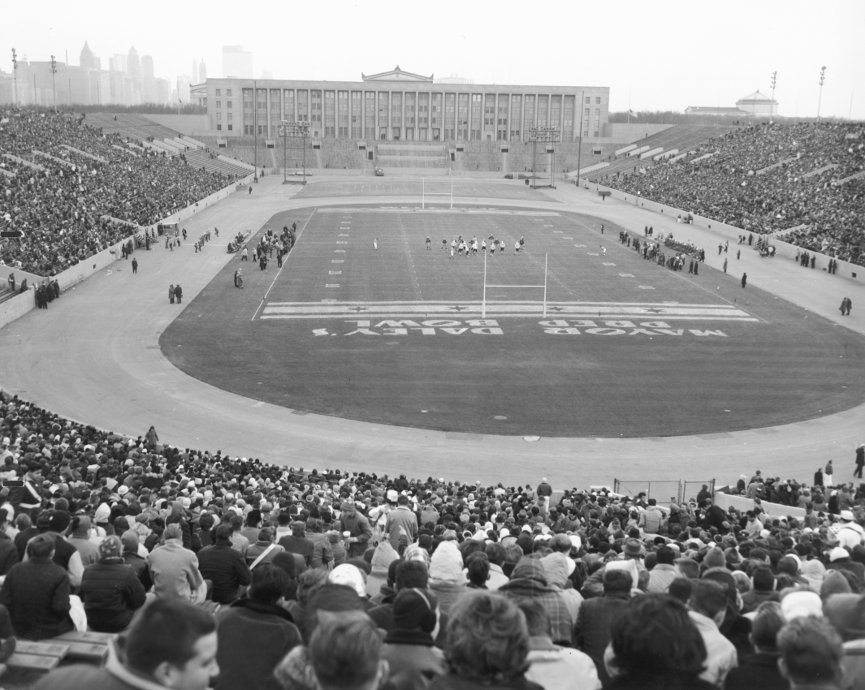 Historic Photographs Of Soldier Field From Soldier Field