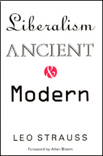 Liberalism Ancient and Modern, Strauss
