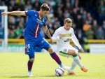 Caley Thistle host Celtic this afternoon