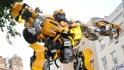 Like Transformers, the robots turn themselves into machines