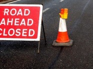 The A82 will be shut overnight because of resurfacing works