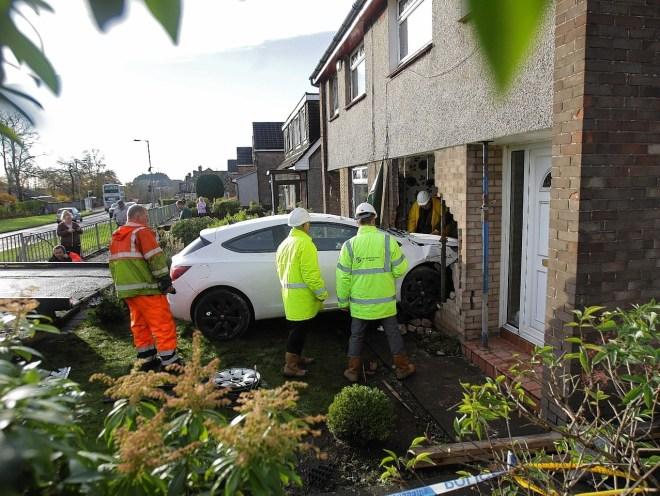 Car Crash House Kirkintilloch