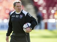 Ross County assistant manager Billy Dodds.