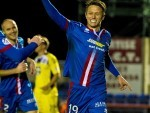 Danny Williams won the points for Caley Thistle with a stunning strike