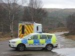 Police and ambulance were called to the B9119 Tarland to Lumphanan road