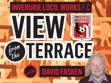 Inverurie Loco. Works: Cup final distraction