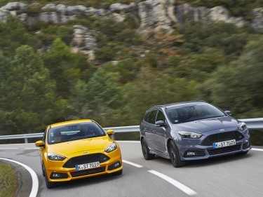 2015 Ford Focus ST hatchback and Wagon