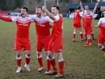 Brora celebrate winning the Highland League title