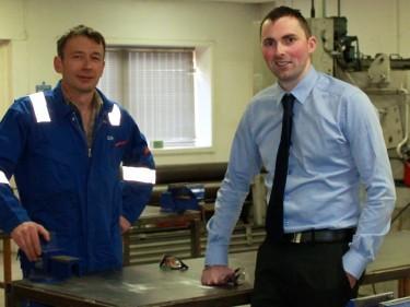 ITCA - (l-r) Colin Sherriffs and Richard Forman