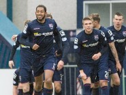 Reckord was all smiles on Saturday after netting his first goal for Ross County