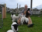 The first of this year's residents has arrived at an orphanage for lambs in the Hebrides