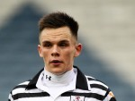 Lawrence Shankland, pictured, scored twice in the friendly against Hungary