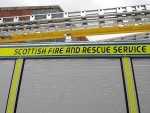 The fire broke out at a student flat on King Street