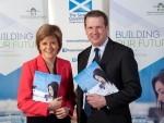 Nicola Sturgeon HIE, with Alex Paterson