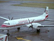 The Loganair plane was flying between Glasgow and Stornoway