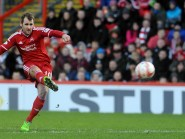 Niall McGinn: Scored a free kick against Partick Thistle earlier this season.