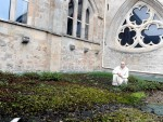 Brother Michael at Pluscarden Abbey