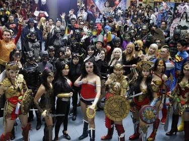 World of DC Comics Super Hero World Record attempt