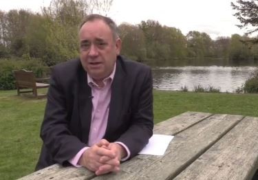 Alex Salmond shares his views with the P&J