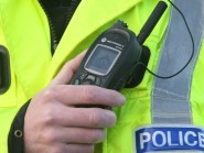 Police are attending a car accident in Sutherland