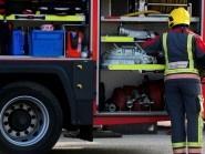 Firefighters are back at the Shetland landfill site