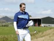 Scotland's Marc Warren walks off the 16th green on Sunday