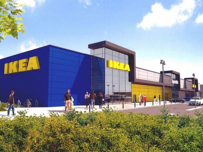 Long Awaited Ikea Store Could Be Size Of A Football Pitch