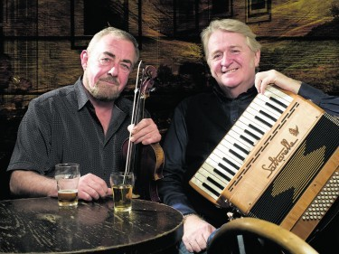 Aly Bain and Phil Cunningham will perform at Blas 2015