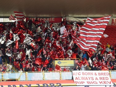 "Dons fans pay emotional tribute to Aberdeen fanatic ""Big Kev"""