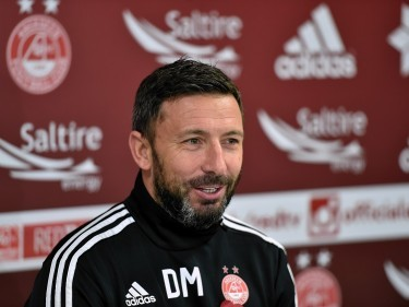 Derek McInnes: Dons could sign two new players in January