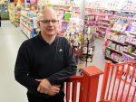 Eric Beattie, manager of Junner's Toy Shop in Elgin