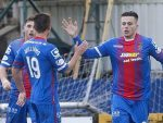Inverness have adapted their tactics given their reliance on Miles Storey, right, for goals