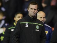 Celtic manager Ronny Deila was left dejected at Pittodrie last night