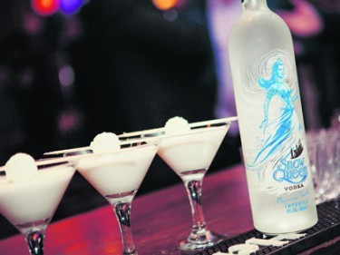 Snow Queen Vodka is silky and creamy with vanilla and spice