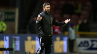 McInnes says Dons supporters deserve parity at Hampden