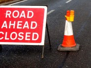 Road closures are scheduled throughout August