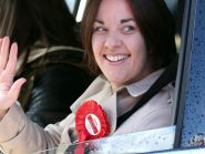 Scottish Labour leader Kezia Dugdale has said she is proud of her party's election campaign