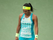 Heather Watson is out of the Madrid Open