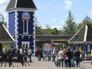 The coaches were carrying Ardrossan Academy pupils to Alton Towers