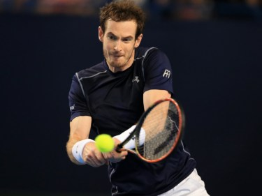 Andy Murray, pictured, has won all four of his previous grand slam matches against Richard Gasquet