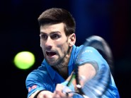 Novak Djokovic, pictured, lost the first set of his fourth-round match against Roberto Bautista Agut at the French Open