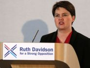 Ruth Davidson has been travelling across Scotland, targeting first-time Tory voters