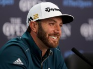 Dustin Johnson: Chasing a hat-trick of victories at Royal Troon.