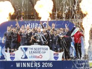 Holder Ross County were knocked out of the Betfred League Cup