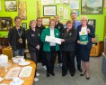 The Morrisons team donate to 2Reuse.