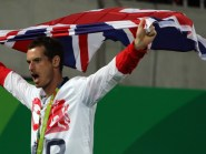 Andy Murray won his second successive tennis gold having been the Team GB flag-bearer at the opening ceremony of the Rio Olympics.