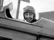 Amy Johnson became the first female pilot to fly solo from Britain to Australia in 1930